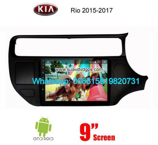 Kia Rio 2015-2017 Car Audio Radio Android GPS